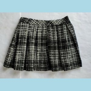 BANANA REPUBLIC Pleated Abstract Skirt Size 14